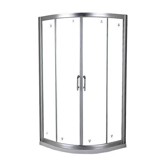Bồn đứng tắm : Phòng tắm bằng kính cường Lực .