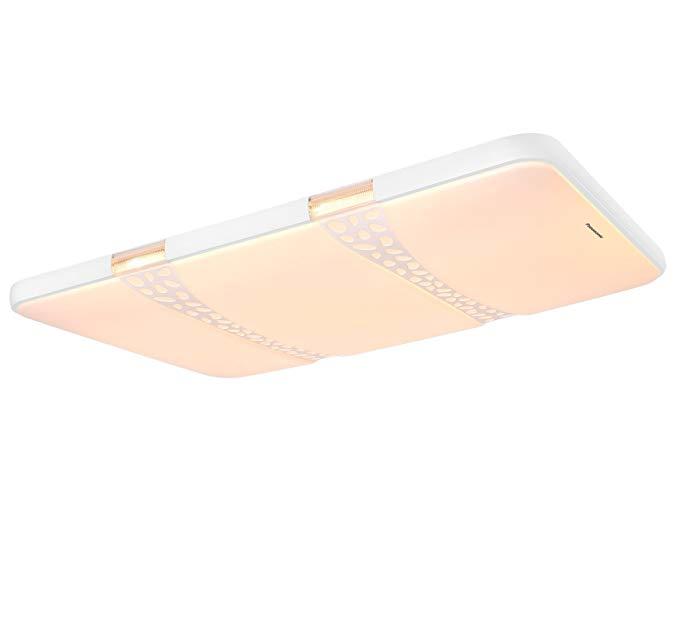 Đèn LED Ốp Trần Nhà hình chữ nhật  thiết kế đơn giản .