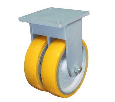 Siêu nặng polyurethane lõi vòng cố định bánh xe / / tải 10 tấn /12 /16 inch inch / bánh xe