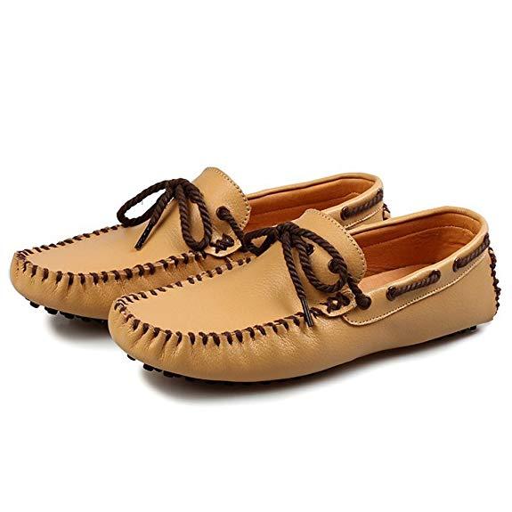 Giày mọi da nam Ma Zizi XGX68-5887-X