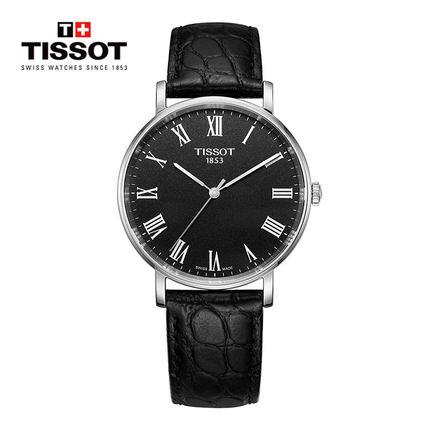 Tissot Tissot Thụy Sĩ chính thức đích thực charm loạt thời gian vành đai thạch anh đồng hồ nam đồng