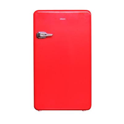 Wellcome 92L cánh cửa duy nhất retro tủ lạnh lạnh hộ gia đình nhỏ màu arc cửa tủ lạnh nhỏ nhà máy th