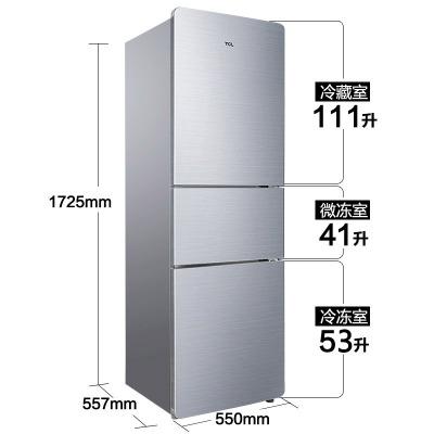 BCD-206TF1 thiết kế Đức công suất lớn Đơn Giản hộ gia đình ba-cửa lạnh lạnh tủ lạnh tiết kiệm Năng L