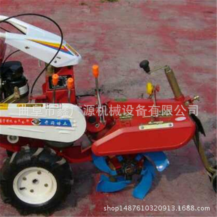 Portable diesel garden management machine small agricultural tools small agricultural rotary tiller