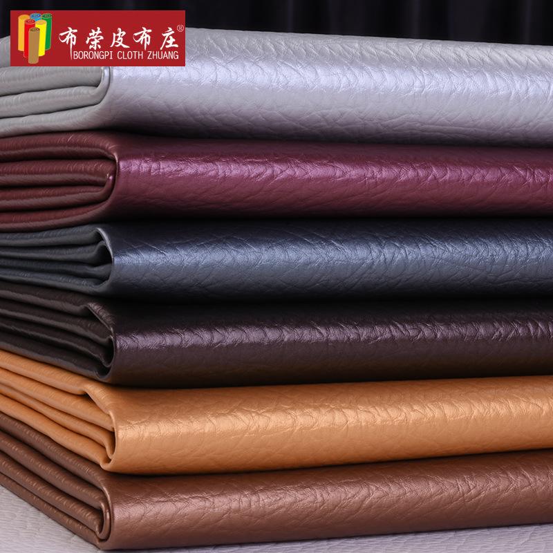 Nhà máy trực tiếp tùy chỉnh tê giác pattern pvc trang trí da vải mềm túi cứng túi da nhân tạo vật li