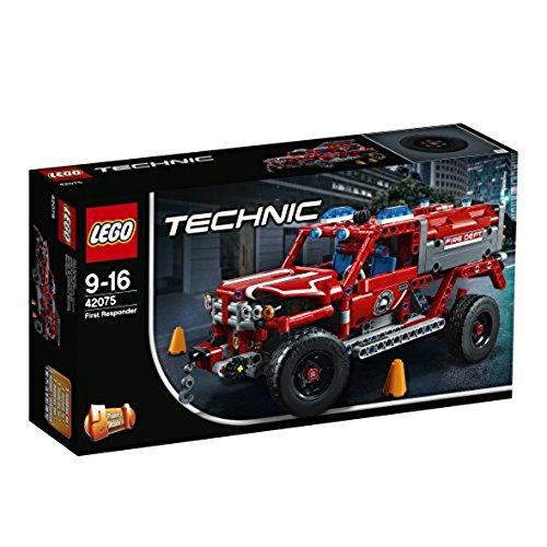 Đồ chơi lắp ráp LOGO mô hình Xe cứu hộ khẩn cấp  42075