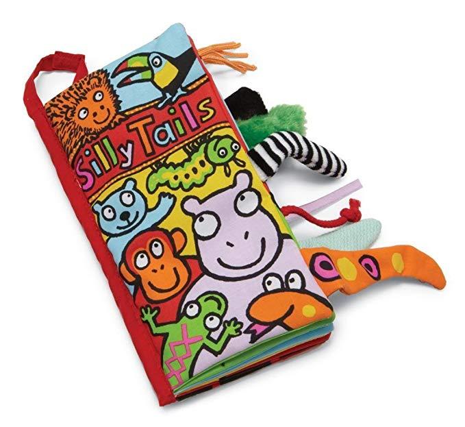 Sách vải mềm Jellycat, đuôi ngớ ngẩn