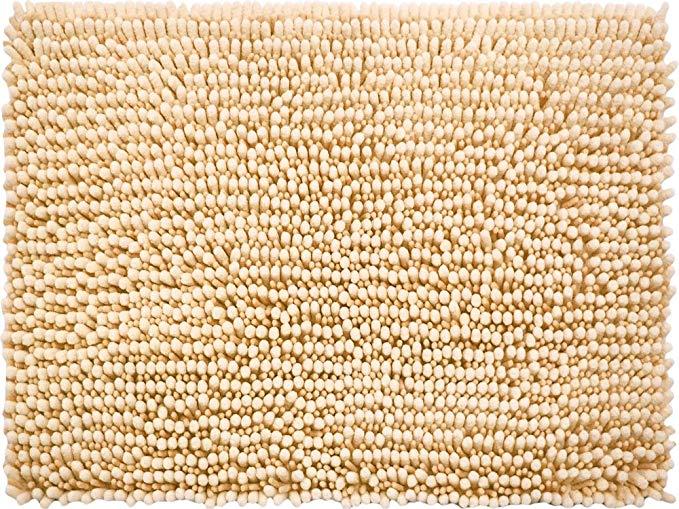 Nước thấm lau mat phòng tắm màu be 45 × 60cm