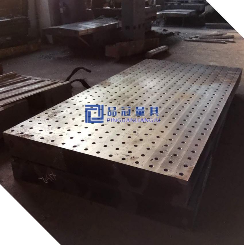 Q345 cột thép bằng thép hàn processing đưa Lỗ Hàn Phác họa nền tảng sản xuất xưởng phiến