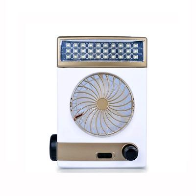 Năng lượng mặt trời Mini Fan 220 v Sạc Fan với Cắm Trại Ánh Sáng Fan Đa Chức Năng Sinh Viên Fan