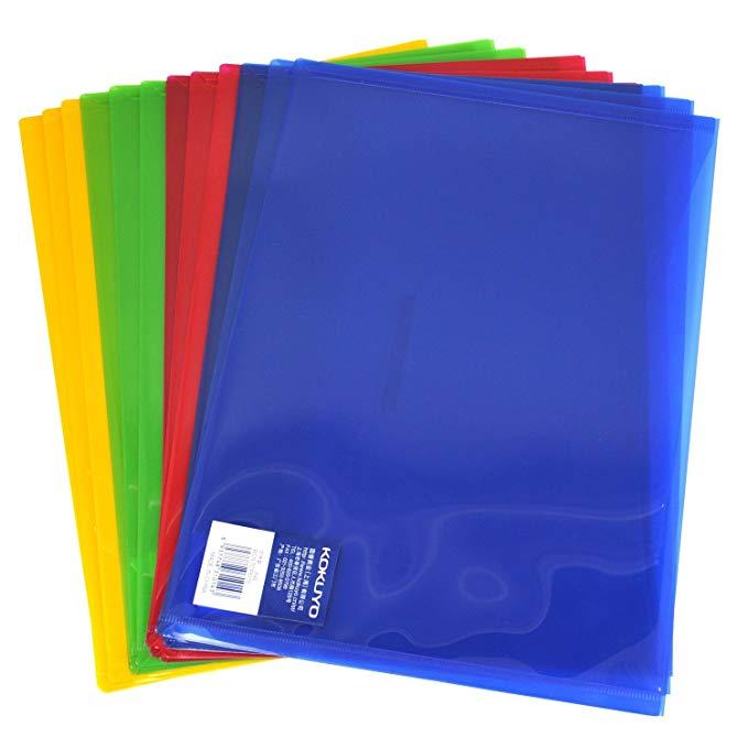 Bìa nhựa đựng tài liệu chống nước tốt, nhiều màu sắc