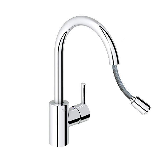 Vòi nước thép không gỉ dùng cho bồn rửa nhà bếp .