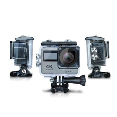 Lingyang dual-màn hình cảm ứng chuyển động camera trên không cưỡi mini ngoài trời 4 k motion camera