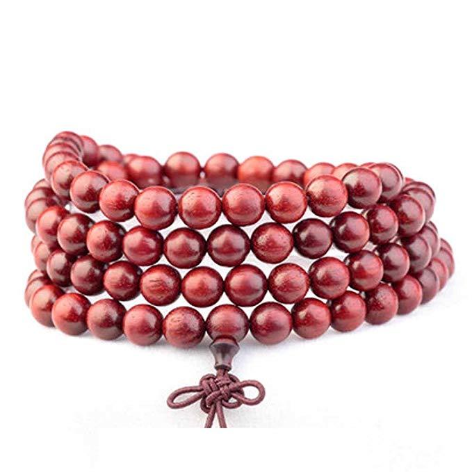 Vòng tay hạt gỗ hồng TAIJI