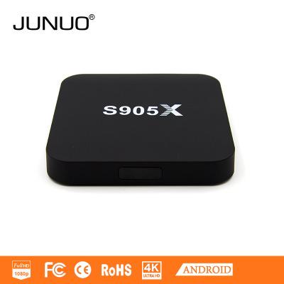 2016 quad-core HD mạng set-top box Android 6.0 máy nghe nhạc Amlogic S905X OTT TV box