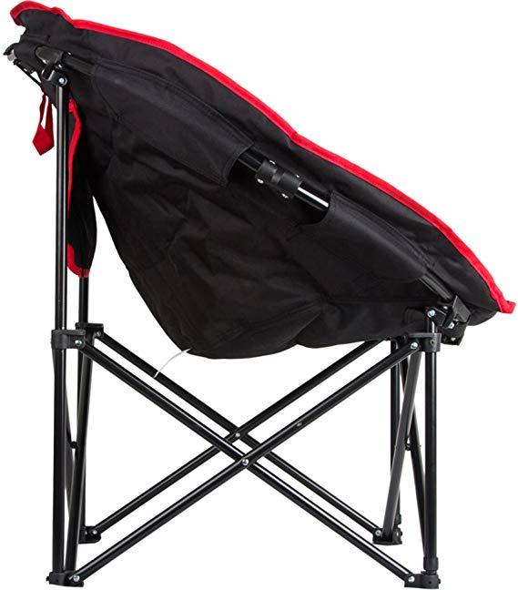 KingCamp Kang Jianye KC3816 cắm trại Ngoài Trời thời trang thoải mái sắt ống QQ ghế salon