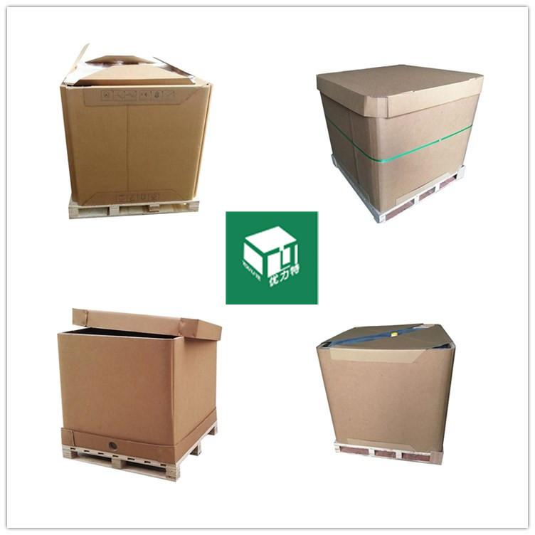 1000L thùng container chất lỏng PAPER IBC tấn IBC tấn thực phẩm cấp thùng hộp có thể gấp