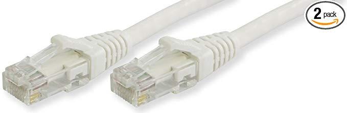 Lynn Electronics CAT6-10-Cáp Ethernet khởi động WHB, 3.05 m, Trắng, 2 Gói