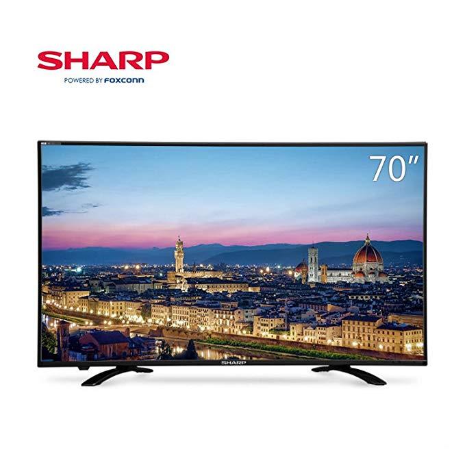 Sharp Sharp LCD-70SU578A 70 Inch 4K Ultra HD Smart LCD TV màn hình phẳng - Phiên bản ca sĩ