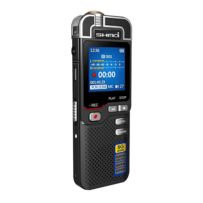 Shengmai D60 ghi âm kỹ thuật số mini HD từ xa giảm tiếng ồn thời trang nhỏ gọn cho hội nghị stage we