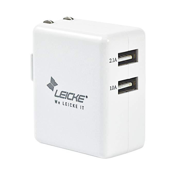 Đức Leicke Lake Bộ sạc đa chức năng Sạc điện thoại di động Máy tính bảng sạc cắm Bộ chuyển đổi nguồn