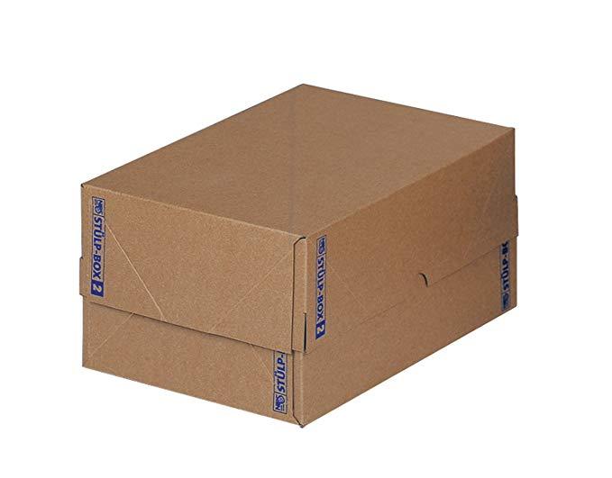 NIPS 144664114STÜLP- 2 hộp, 2 hộp, 310 x 435 x 110 mm, 5 miếng, nâu