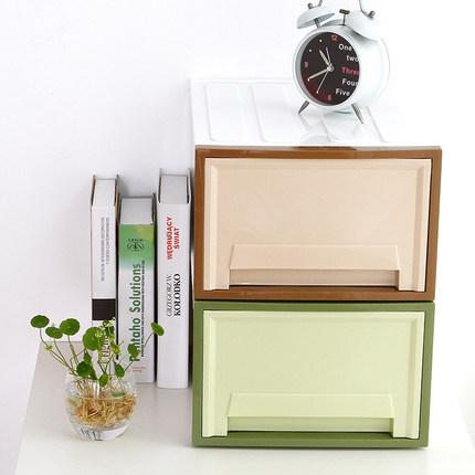 Camellia nhựa lưu trữ ngăn kéo nhiều lớp lưu trữ hộp lưu trữ hộp lưu trữ quần áo hộp văn phòng tập t