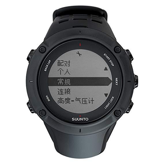 SUUNTO Mở rộng AMBIT3 PEAK Mở rộng trung tính Wild 3 Series Smart Watch (với vành đai nhịp tim)