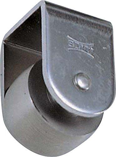 Bánh thép không gỉ phẳng 60mm CAS-0602
