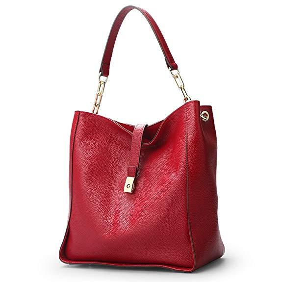 Túi xách bằng da mềm mại của phụ nữ Hobo túi mềm túi xách của ngư dân