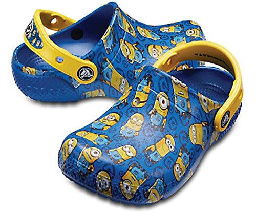 Giày Hiệu Crocs - K 205122-4GX , cho trẻ em phiên bản MINIONS.