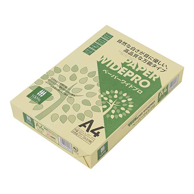Bản sao giấy Nhật Bản màu giấy mở rộng chuyên nghiệp 500 tờ 68g / m2 A4 trắng