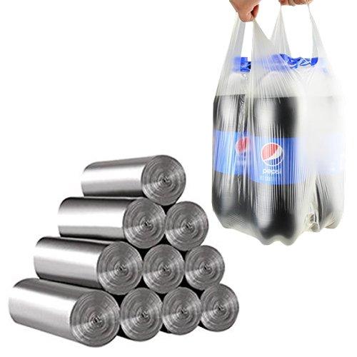 Túi đựng rác bằng nhựa Túi đựng rác bằng thép dày Nhà bếp lớn Túi xách tay bằng nhựa Túi nhựa dùng m