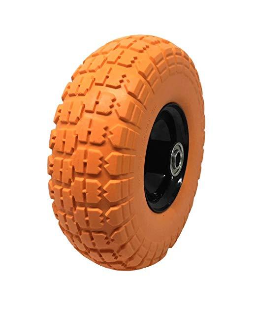 Lốp bánh xe đa năng cho sân cỏ và vườn , Lỗ mang 1,59 cm ,  cao su phẳng 25,4 cm