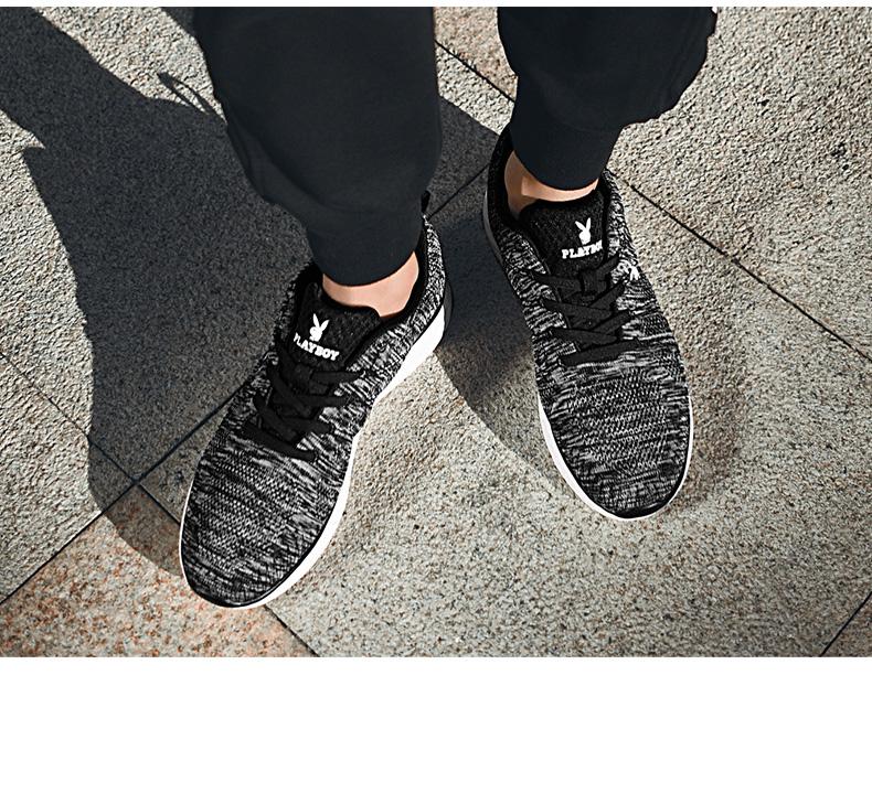 Giày Lưới thời trang thể thao dành cho Nam , Thương hiệu: PLAYBOY -  DS81006 .