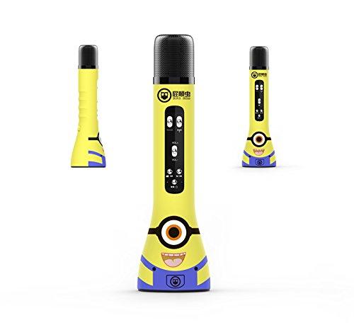 Hifier fart worm MC-300 trẻ em của microphone điện thoại di động phổ karaoke microphone không dây bl