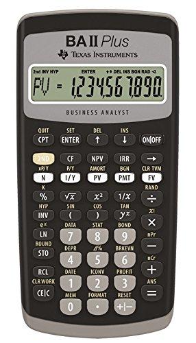 TEXBAIIPLUS - Texas Instruments BA-II Plus Adv. Máy tính tài chính