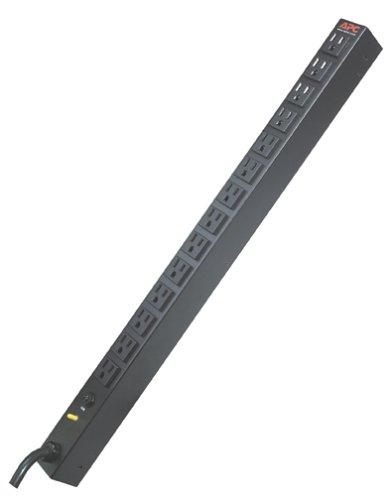APC AP9551 Giá PDU Cơ bản Zero U 20A / 120V Phân phối điện