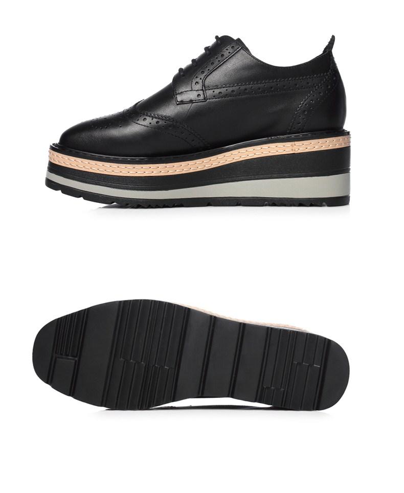 Giày Thời Trang Thể Thao Đế Bệt Dày Dành cho Nữ ,  Nhãn hiệu: Senda .