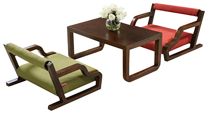 KUKA Gujia -  Bộ Bàn Ghế Dành cho 2 người , Thiết kế đơn giản .