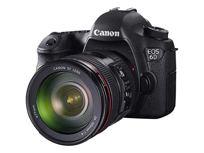 Máy ảnh DSLR Canon EOS 6d + EF 24 - 105 IS STM