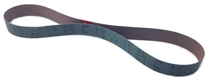 Sungold Abrasives 03823 Một loạt các đai mài hạt mịn của alumina công nghiệp cao cấp (15 gói), 1 x 3