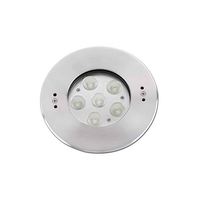 Faro Barcelona Edel 70455 - Dock (có bóng đèn) LED, 18W, thép không gỉ, kính trong và PVC
