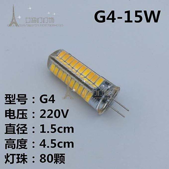 G4G5.3G9LED hạt đèn 12V220V pins làm nổi bật đèn pha lê ngô đèn tiết kiệm năng lượng vá nguồn ánh sá
