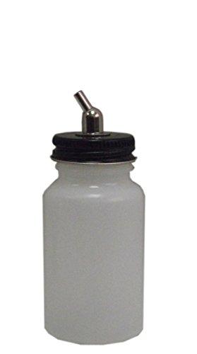 Badger 51-0055M 3 oz. Lon nhựa với bộ chuyển đổi kim loại 150/155/175/200/360