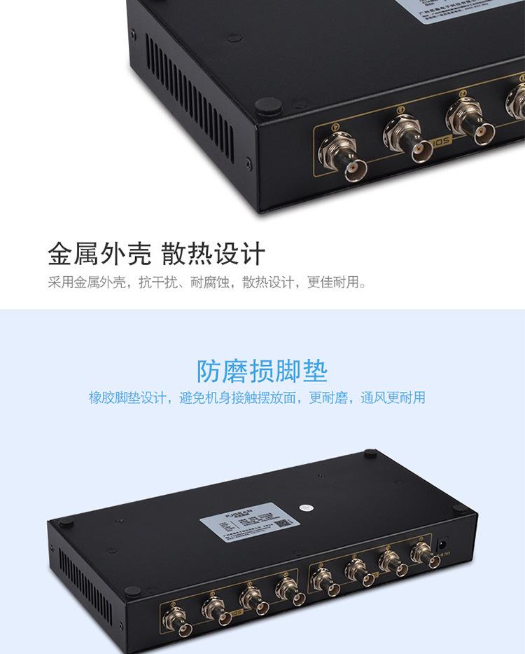 SDI Bộ chia SDI với điều khiển từ xa 1080P với hiệu ứng mức phát sóng điều khiển từ xa