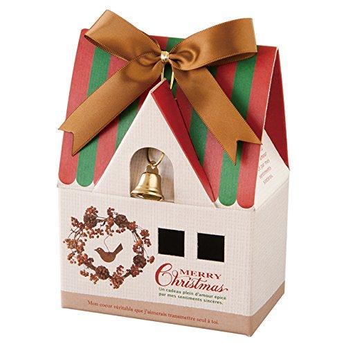 Hộp quà tặng Giáng sinh Loại Bento với Gạch Velcro với Nhẫn bằng thép - S (10 tờ) XHO-GS