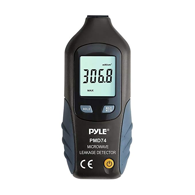 Đồng hồ đo bức xạ vi sóng Pyle cao cấp, thử nghiệm bức xạ, thiết bị kiểm tra lò vi sóng LED, máy dò