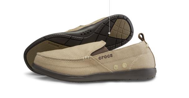 Giày Mọi Vải Da Lộn cho Nam giới Nhãn hiệu: Crocs .