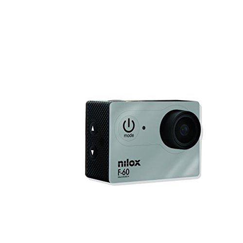 Nilox F-60 có thể được lắp ráp với máy ảnh chuyển động HD đầy đủ - màu xám